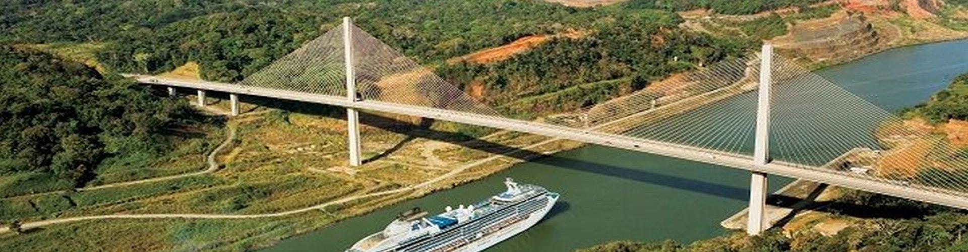 תעלת פנמה - מבט אווירי