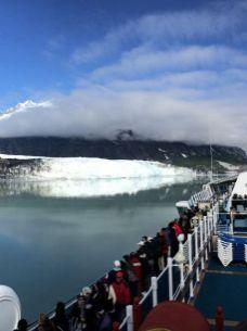תצפית על קרחון מהאנייה