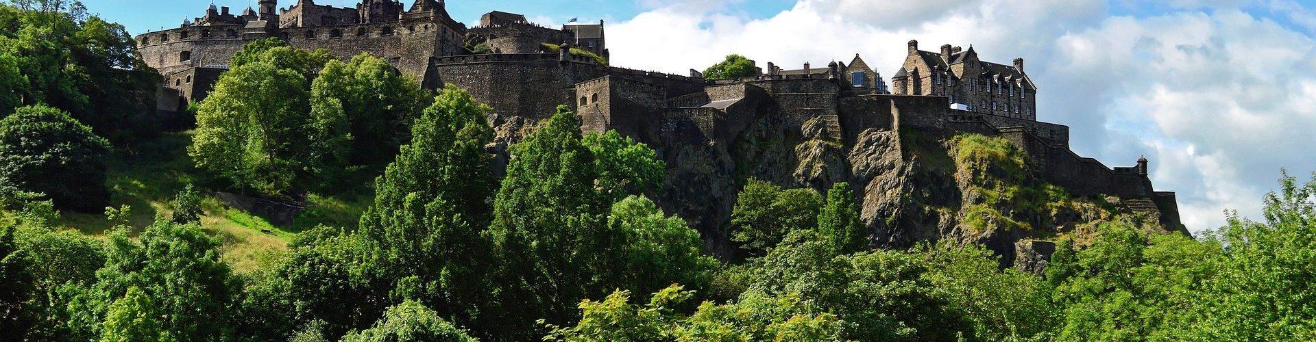 המצודה באדינבורו, סקוטלנד